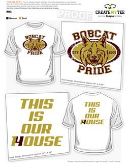 High School T-Shirt & Apparel Designs | CreateMyTee
