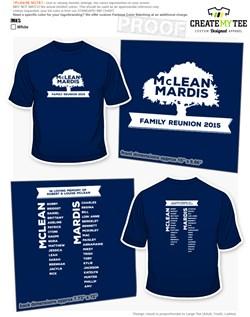 Family Reunion T-Shirt Designs | CreateMyTee