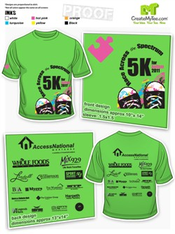 Custom Road Race Shirts, 5K, 10K, Road Race Shirts | CreateMyTee