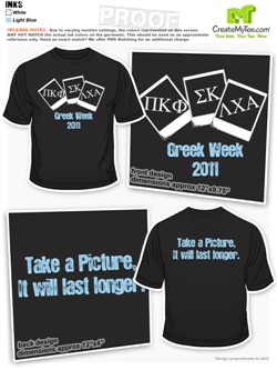 Greek Week Shirts