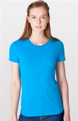 American Apparel Ladies' Fine Jersey T-Shirt (2102)