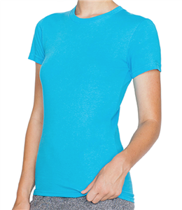 American Apparel Ladies' Fine Jersey T-Shirt (2102w)