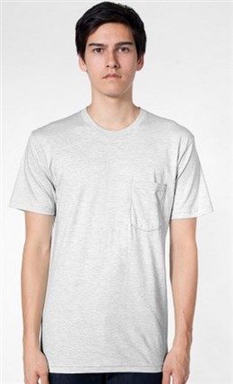 American Apparel Pocket T-Shirt (2406)