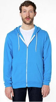 American Apparel Flex Fleece Full-Zip Hoodie (F497)