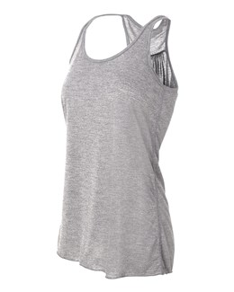 Bella Ladies' Flowy Racerback Tank Top (8800)