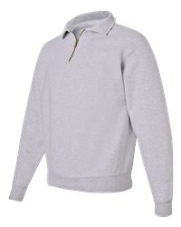 Jerzees 50/50 1/4-Zip Collar Sweatshirt (4528M)