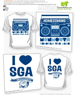 Homecoming T-Shirt Designs | CreateMyTee on