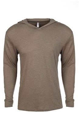 Next Level Tri-Blend Long-Sleeve Hoodie (6021)