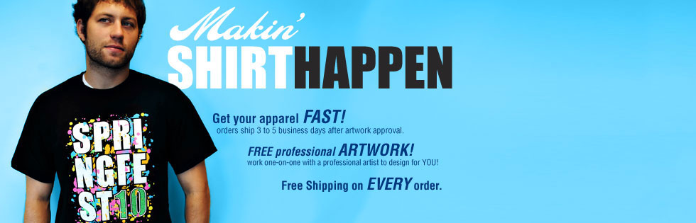 Create Your Custom Tshirt Now, Free Shipping