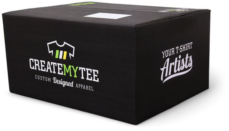 CreateMyTee Custom T-Shirt Box