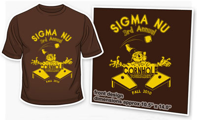 Sigma Nu Greek Licensed custom t-shirt