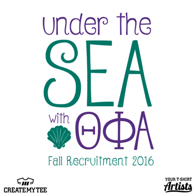 Under the Sea with Theta Phi Alpha, Fall Recruitment 2016