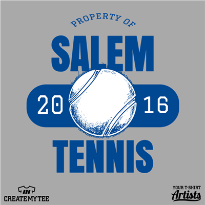 CS, Salem Tennis, Property Of