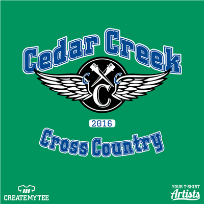CS, Cedar Creek Cross Country, 2016