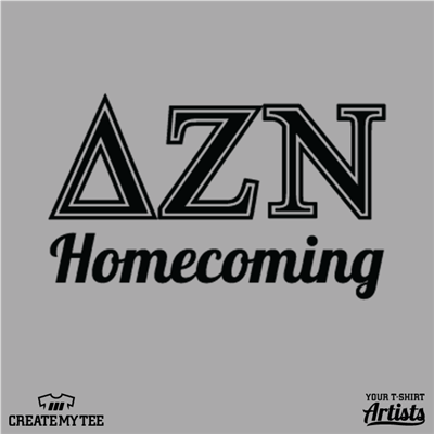 delta zeta nu, homecoming, left chest