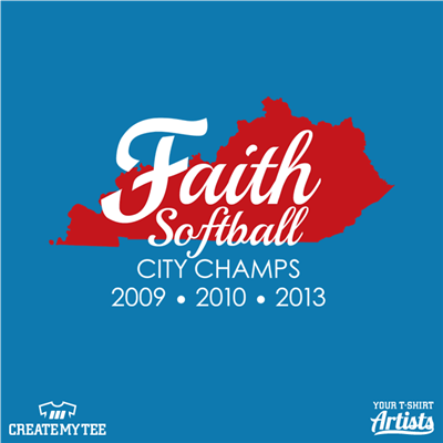 Faith Softball (Front) Kentucky