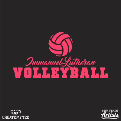Immanuel Lutheran Volleyball (front)