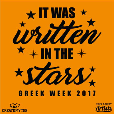It was written in the stars - Greek Week