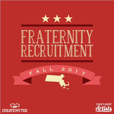 Fraternity Recruitment Fall 2017, Massachusetts