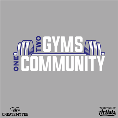Two gyms, One community