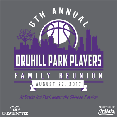 6th Annual Druhill Park Players Family Reunion 2017, Druid Park