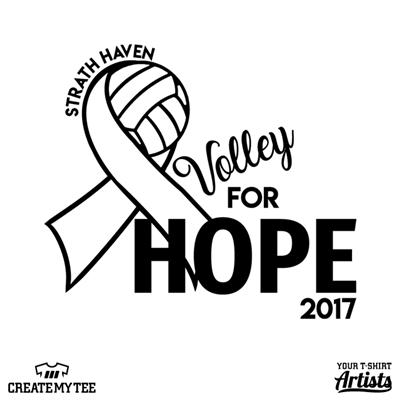 Volley for hope, strath haven