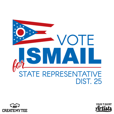 Vote Ismail, State Representative, District 25