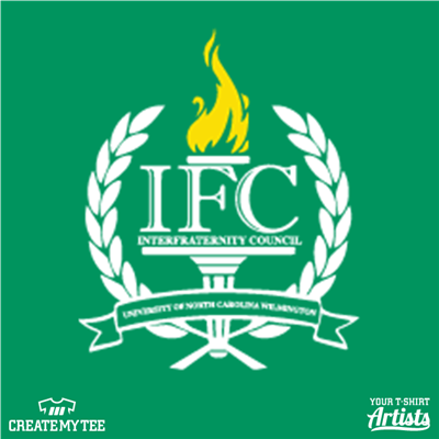 IFC logo, University of North Carolina Wilmington