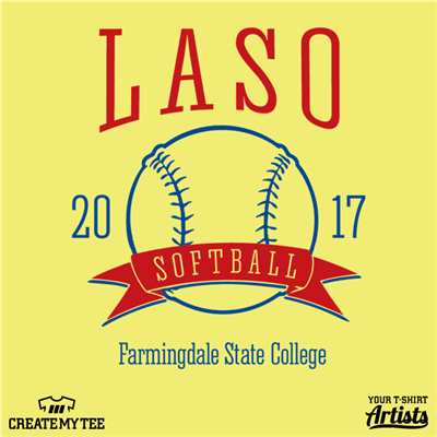 LASO Softball 2017, Farmingdale State College