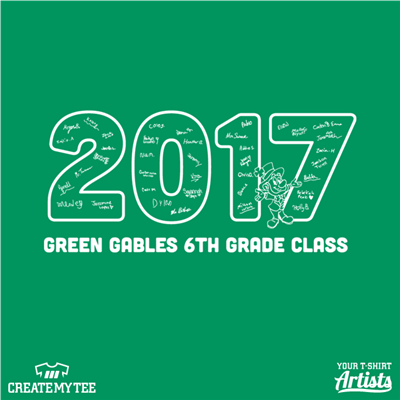 2017 Green Gables 6th Grade Class