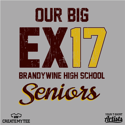Our big EX17, Brandywine High School Seniors