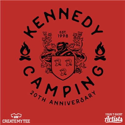 Kennedy Camping, 20th Anniversary, Kennedy Crest