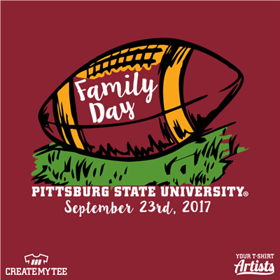 Pittsburg State University Family Day, Football and grass