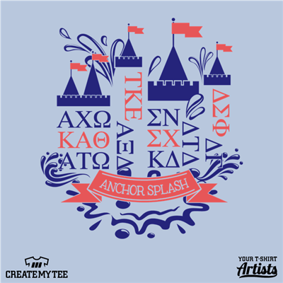 Delta Gamma, Anchor Splash 2017, Greek Castle
