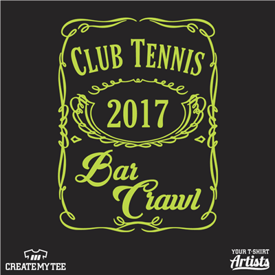 Club Tennis, 2017 Bar Crawl