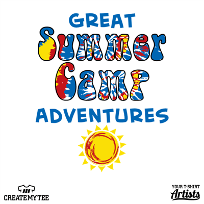 Great Summer Camp Adventures, Camp, Sun, Children