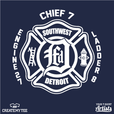 DFD, Junction Boys, Detroit, Fire Department, Firemen, Fire Truck