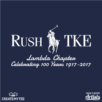 Rush TKE, Polo, Lambda Chapter