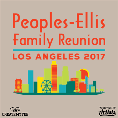 Peoples Ellis, Family Reunion, Los Angeles, Skyline