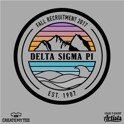 Delta Sigma Pi, Fall Recruitment, Mountains