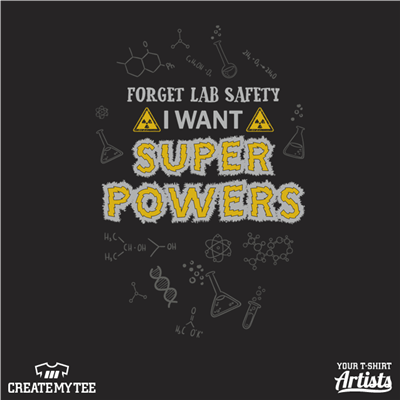 Super Powers, Lab Safety