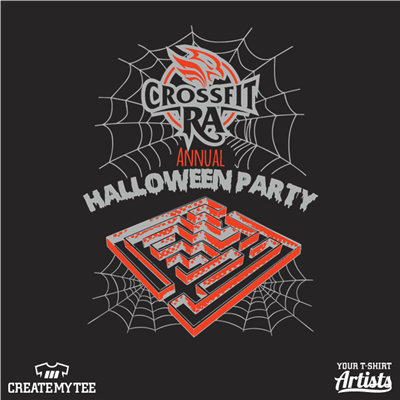Crossfit RA, Halloween Party