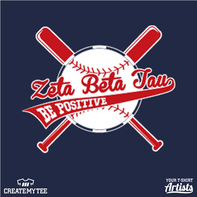 Zeta Beta Tau, Be Positive, Baseball, ZB+