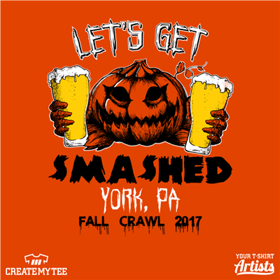 Let's Get Smashed, Pumpkin, Fall Crawl