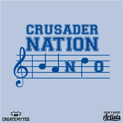 Crusader Nation, Bando, Music Notes