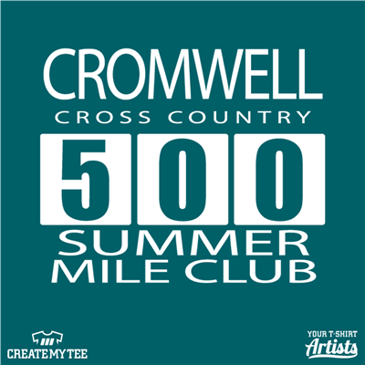 500, Cromwell, Cross Country, Summer Club