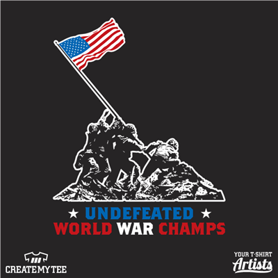 Undefeated, World War, Champs