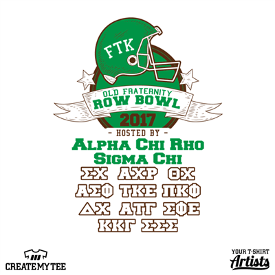 FTK, Old Frat, Row Bowl, Greek, Football