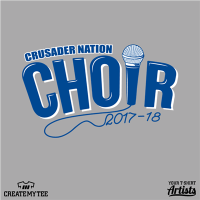 Crusader Nation, Choir, Microphone