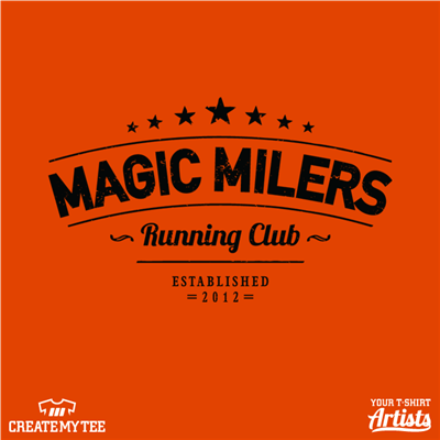 Magic Milers, Running, Club